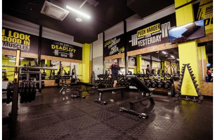 спортивное оборудование для фитнес-клуба