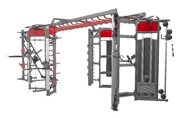 360H Рама DHZ для функциональных тренировок. Габарит 6800x3500x2560 мм