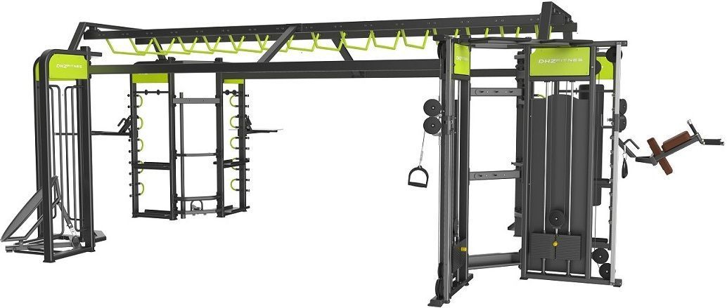 360A Рама DHZ для функциональных тренировок. Габарит 8700х5000х2560
