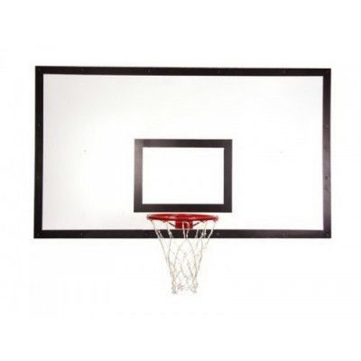 Щит баскетбольный ZSO тренировочный 900х1200 мм, ФАНЕРА (толщина фанеры 15 мм) на мет-се пристенный