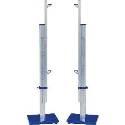 Стойки для прыжков в высоту ZSO, телескопические алюминиевые