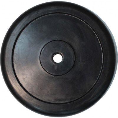 """Диск обрезиненный ZSO черный """"Classic"""" D-26, 25 кг"""