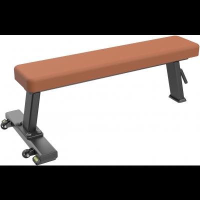 Скамья прямая горизонтальная dhz flat bench e-1036в