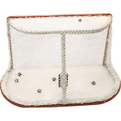 Сетка хоккей Д=2,6мм, яч. 40*40, цвет белый. Для ворот 1.25*1.85*1.30м. С повышенной светостабилиз