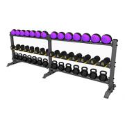 А0157 Стойка для хранения оборудования (гири-гантели-мячи)