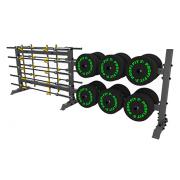 A-0158 Стойка для хранения оборудования(диски-грифы)