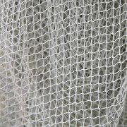 Сетка заградительная яч. 100*100 нить 2,0 мм (белый)  (капрон) ПА