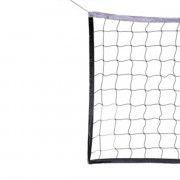 Сетка волейбол Д=2,5 мм  яч. 100*100 белый  Размер 1,0 * 9,5 м  обш.  верх лента 5 см ПП