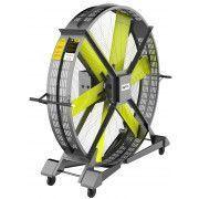Вентилятор мобильный DHZ, для тренажерного и кроссфит зала.