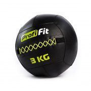 Медицинбол набивной (Wallball) PROFI-FIT, 3 кг