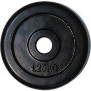 """Диск обрезиненный ZSO черный """"Classic"""" D-26, 1,25 кг"""