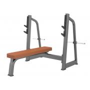 E-1043В Скамья-стойка для жима штанги лежа (Olympic Bench)