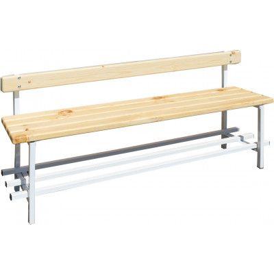 Скамья для раздевалок ZSO со спинкой 1,5 м