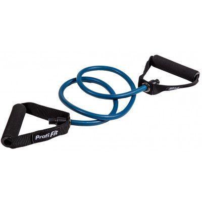 Эспандер трубчатый PROFI-FIT, голубой, сопротивление 10 кг