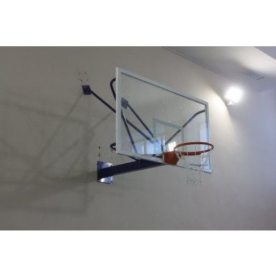 Щит баскетбольный ZSO, проф. СТЕКЛО 10 мм, TB 8103 с ударопрочной пленкой