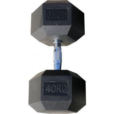 Гантель гексагональная обрезиненная ZSO, 40 кг