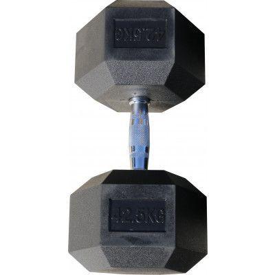 Гантель гексагональная обрезиненная ZSO, 42,5 кг
