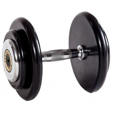 Гантельный ряд ZSO 2,5 кг - 25 кг (10 пар), шаг 2,5 кг, BASIC