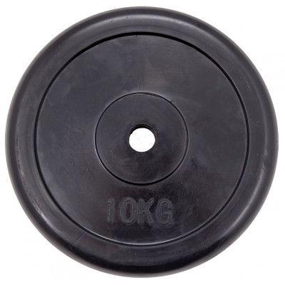 """Диск обрезиненный ZSO черный """"Classic"""" D-26, 10 кг"""