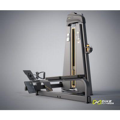 E-1033В Гребная тяга. Горизонтальный блок (Long Pull). Стек 109 кг.
